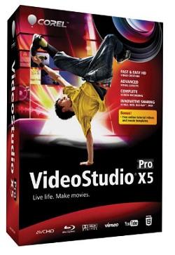VideoStudio Pro X5